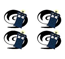 Doctor Who Pattern 2 Photographic Print