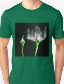 Digitally manipulated exploding red Rose bud T-Shirt