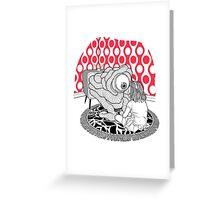 Blink! Greeting Card