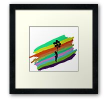 Fantasy -  Try to Fly Framed Print