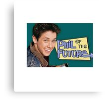 Phil of the Future Canvas Print
