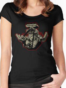Cartoon Engine Women's Fitted Scoop T-Shirt