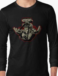 Cartoon Engine Long Sleeve T-Shirt