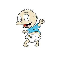 Rugrats- Tommy Pickles Photographic Print