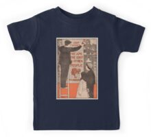 Artist Posters Just issued the ape the idiot and other people by WC Morrow 0424 Kids Tee