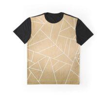 Minimal Gold Graphic T-Shirt