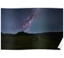 The Milky Way, South of Beaudesert, Qld Poster