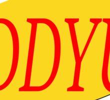 Seinfeld Giddyup  Sticker