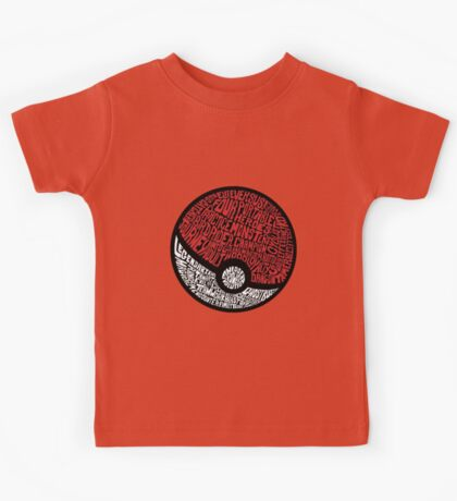 wild pokemon Kids Tee