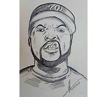 Ice Cube  Photographic Print
