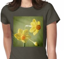 Heralding Spring Womens Fitted T-Shirt