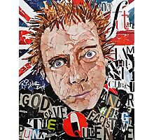 Rotten Made In Britain Photographic Print