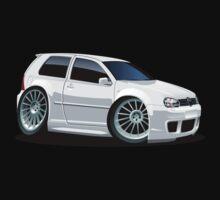 Cartoon Car VW One Piece - Short Sleeve