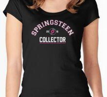 Springsteen Collector 2016 (Football) limited pink edition Women's Fitted Scoop T-Shirt