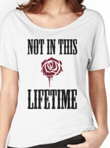 Not in this lifetime Axl and Slash reunion. Classic Guns n´roses Women's Relaxed Fit T-Shirt