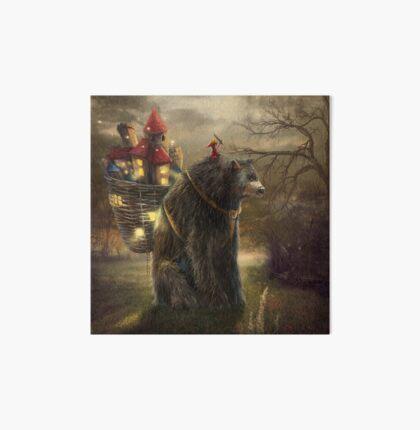 """""""A Bear Who Carried A Kingdom"""" Art Board"""