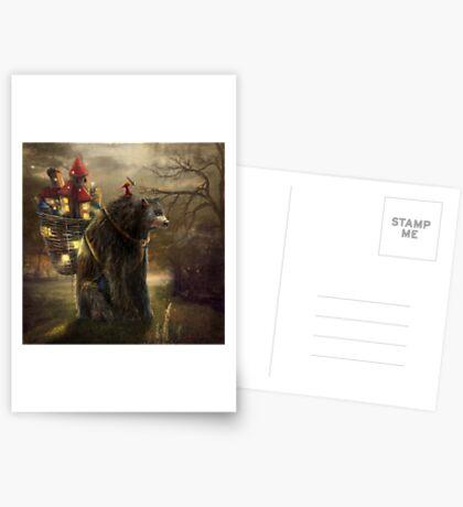 """""""A Bear Who Carried A Kingdom"""" Greeting Card"""