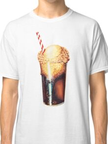 Root Beer Float Pattern Classic T-Shirt