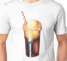 Root Beer Float Pattern Unisex T-Shirt