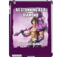 Twice as Hard <3 iPad Case/Skin