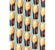 Root Beer Float Pattern Photographic Print