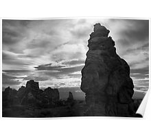 Arches NP IX BW Poster