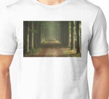 Road in the Forest Unisex T-Shirt
