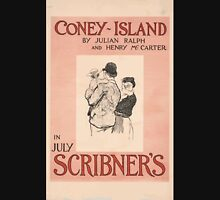 Artist Posters Coney Island by Julian Ralph and Henry McCarter in July Scribner's 0682 Unisex T-Shirt