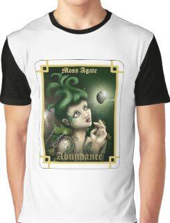 Gemstone Oracle Card - Abundance Graphic T-Shirt