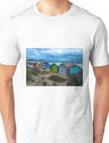 Iconic Brighton Beach Boxes  Unisex T-Shirt