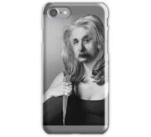Einstein the vampire slayer iPhone Case/Skin