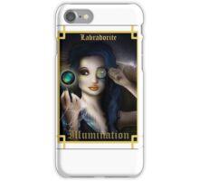 Gemstone Oracle Card - Illumination iPhone Case/Skin