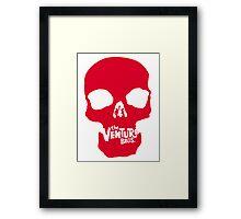 Venture Bros Red Skull! Framed Print
