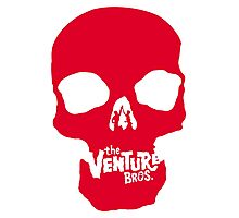Venture Bros Red Skull! Photographic Print
