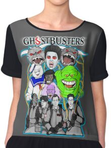 Ghostbusters villains collage Chiffon Top