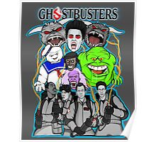 Ghostbusters villains collage Poster