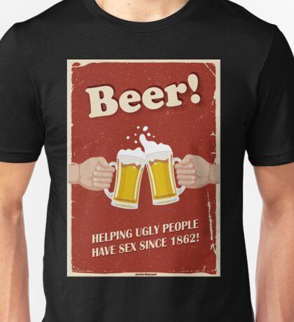 Beer Poster Unisex T-Shirt