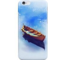 Boat Art Painting iPhone Case/Skin