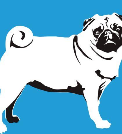 Pug Mops Sticker