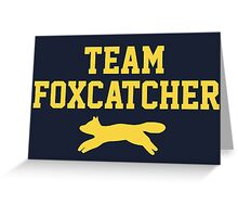 Team Foxcatcher Greeting Card