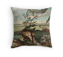 Landscape,The Group of Seven, Casson Throw Pillow