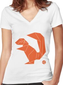 Ubuntu Xenial Xerus Women's Fitted V-Neck T-Shirt