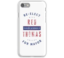 Re-Elect Red iPhone Case/Skin
