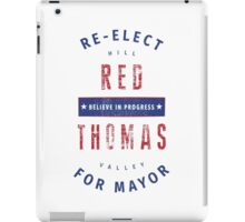 Re-Elect Red iPad Case/Skin