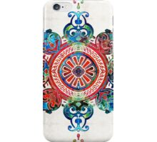 Colorful Pattern Art - Color Fusion Design 3 By Sharon Cummings iPhone Case/Skin
