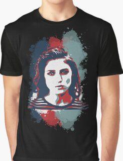 STENCIL PORTRAIT Graphic T-Shirt
