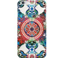 Vibrant Pattern Art - Color Fusion Design 4 By Sharon Cummings iPhone Case/Skin