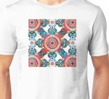 Vibrant Pattern Art - Color Fusion Design 4 By Sharon Cummings Unisex T-Shirt