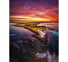 Griffiths Island, Port Fairy Photographic Print