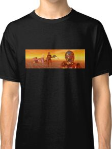 CYBORG ARES IN THE DESERT OF HYPERION Sci Fi Movie Classic T-Shirt
